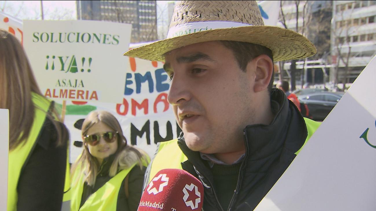 Los citricultores se manifiestan en Madrid para reclamar a Bruselas la defensa del sector