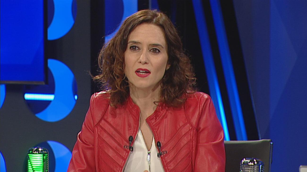 """Díaz Ayuso: """"El aborto no es solo cuestión de ideología sino de principios, es apología de la muerte"""""""