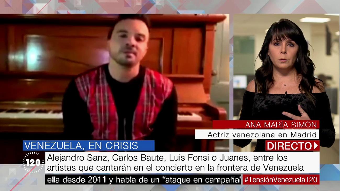 """Ana Mª Simón, actriz venezolana: """"No es un juego lo que pasa en Venezuela, hay una crisis humanitaria real"""""""
