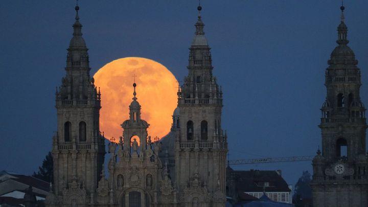 Las impresionantes imágenes de la 'superluna'