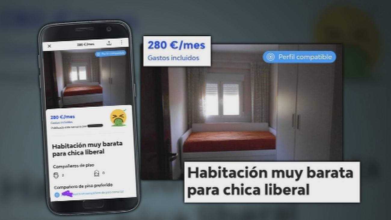 Ofrece una habitación en pleno centro de Madrid a cambio de sexo