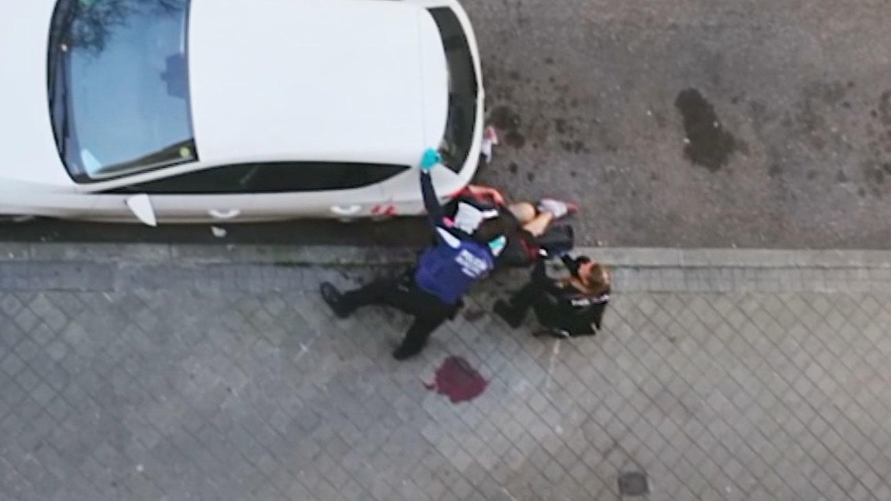 Un hombre apuñala al atracador que intentaba robar a su hermana