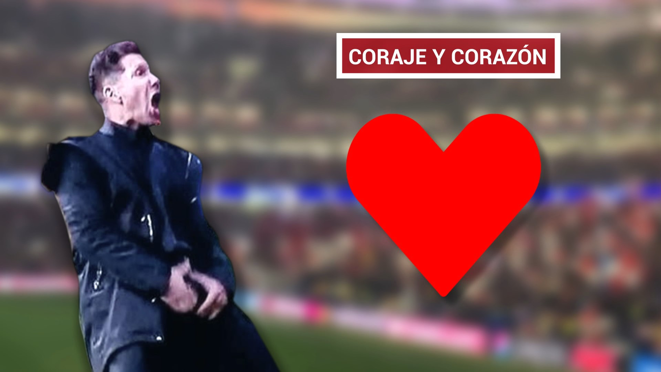 """Simeone: """"Para poner a Costa y Koke hay que tener huevos"""""""