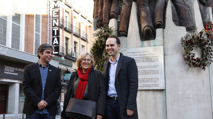 Carmena destaca la revitalización de la remodelada Atocha