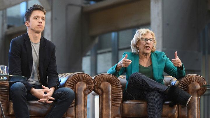 Carmena y Errejón hacen oficial sus listas electorales de Más Madrid