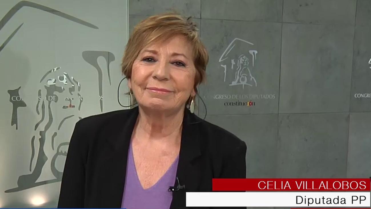 """Celia Villalobos: """"Me hubiese gustado terminar mi carrera con un acuerdo en el Pacto de Toledo"""""""