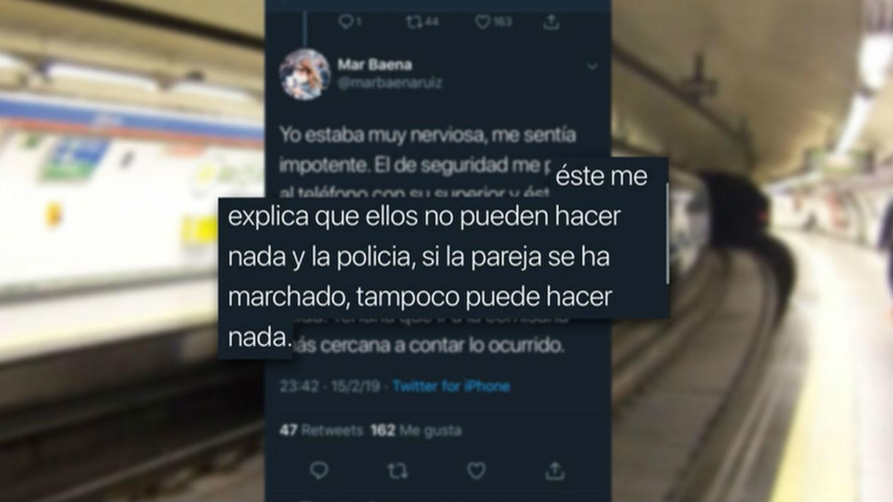Desgarrador relato de una agresión machista en el metro