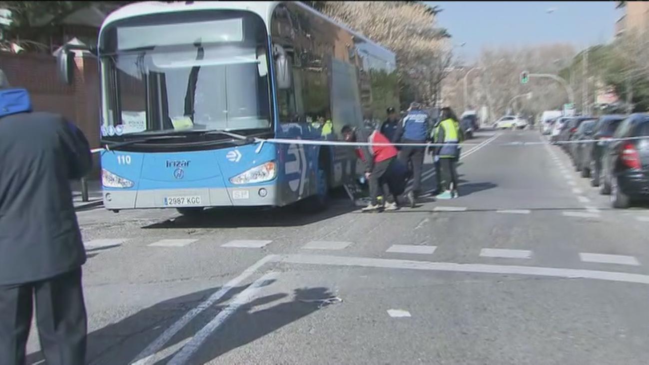 Muere un hombre atropellado por un autobús de la EMT en el distrito de Moncloa