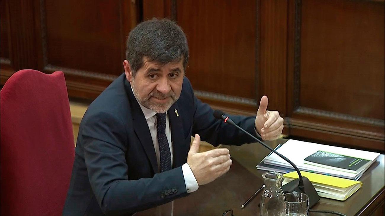 """Jordi Sànchez califica de """"ilegal"""" el 1-O pero dice que ningún juez impidió hacer campaña"""