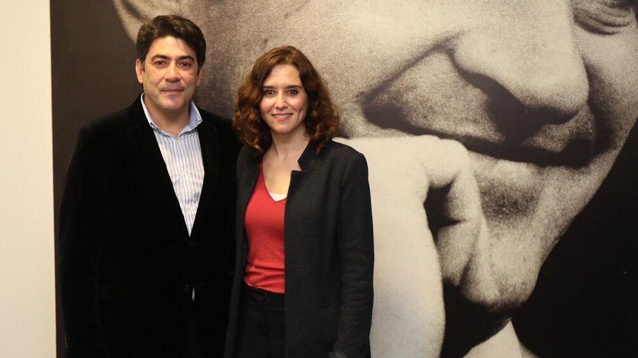 David Pérez e Isabel Díaz Ayuso
