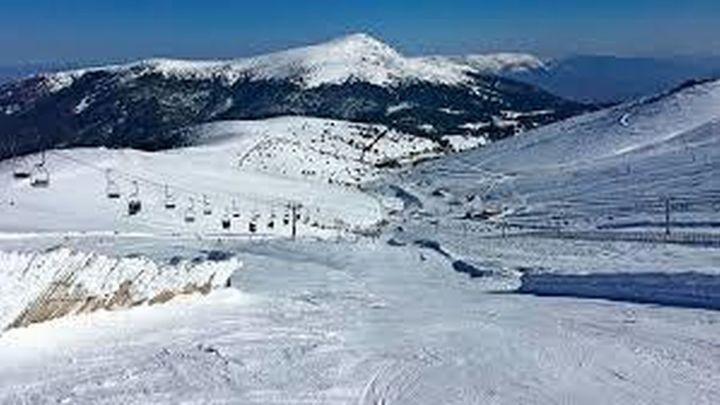Una treintena de pistas de nieve abiertas en Valdesquí y Navacerrada