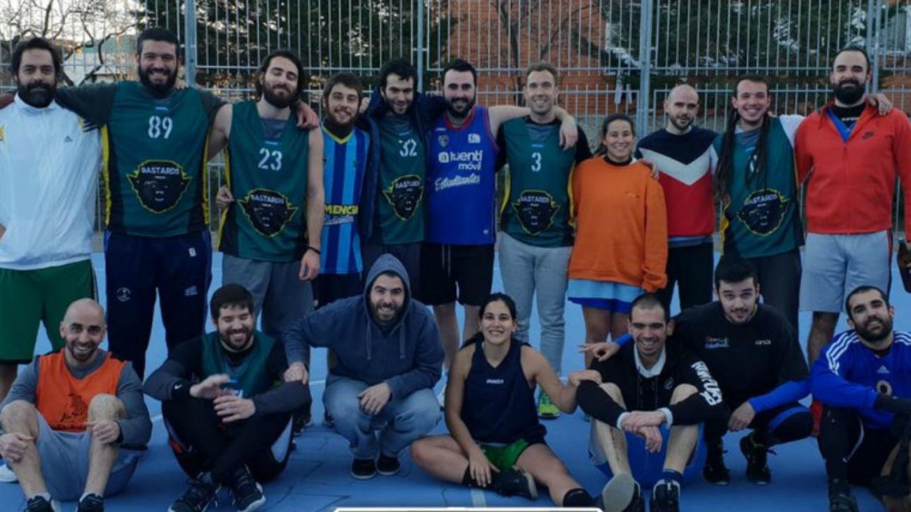 Liga Basket Cooperativa, hombres y mujeres compiten en igualdad