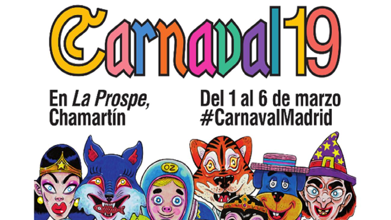 Del 1 al 6 de marzo, disfruta del Carnaval de Madrid en Prosperidad