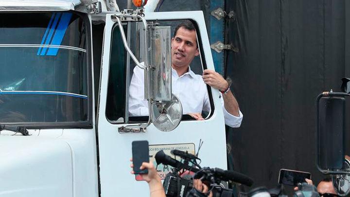 Guaidó llama a los militares a permitir la entrada de la ayuda humanitaria