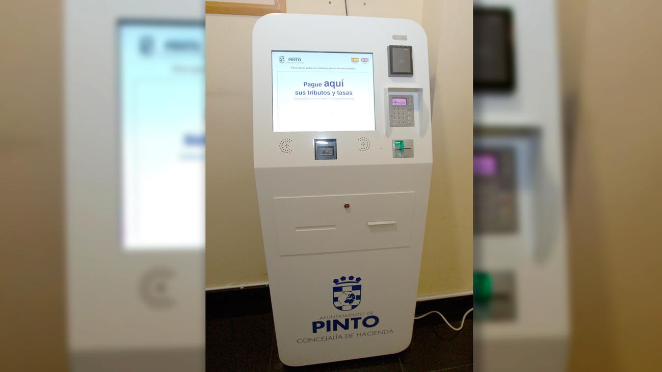 Instalan en Pinto un cajero para pagar los impuestos mediante una tarjeta de crédito