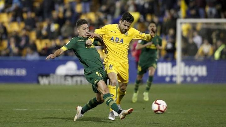 2-0. El Alcorcón sorprende a Las Palmas