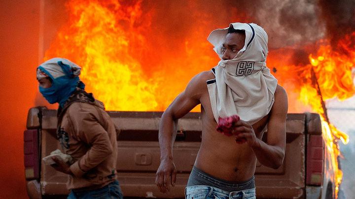Al menos un decena de muertos en las fronteras de Venezuela