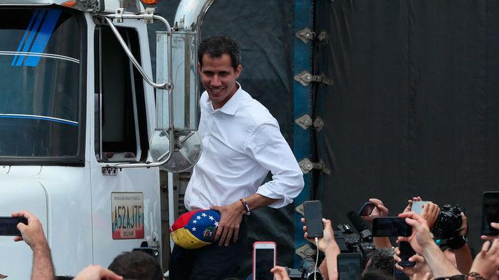 """Guaidó se plantea """"todas las opciones"""" para liberar a Venezuela"""