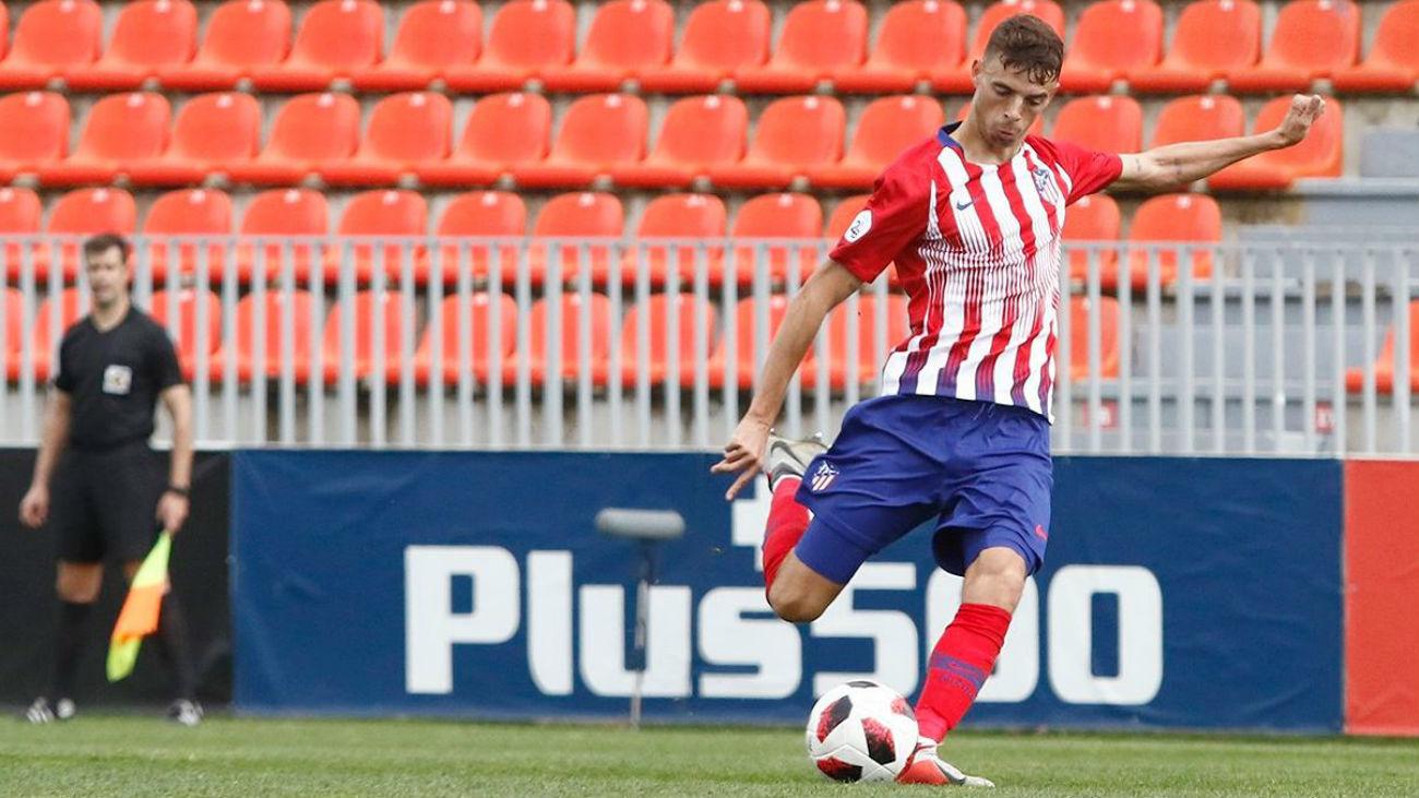1-0. El Atlético B gana al Inter con un gol de Cristian