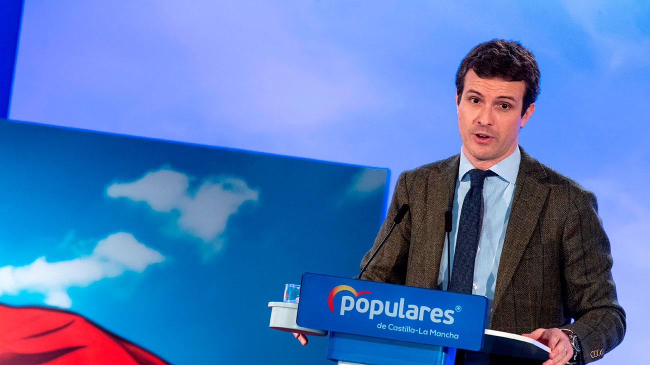 Casado reivindica al PP como el partido de las ideas claras