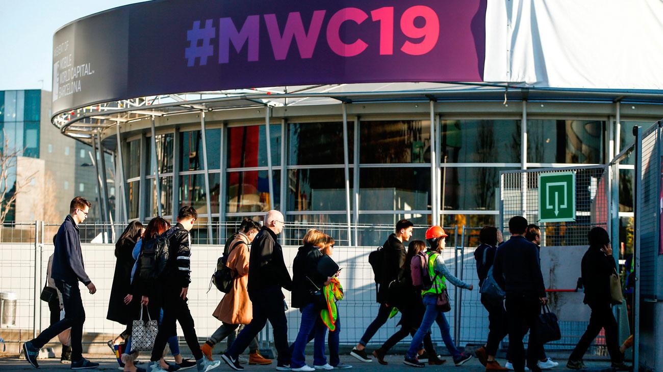 El Rey preside la cena oficial  del Mobile World Congress 2019