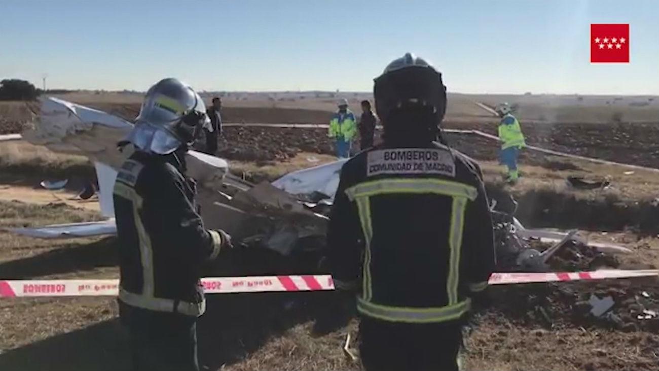 Dos accidentes de avioneta en Madrid en el último mes