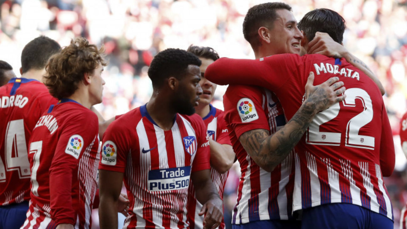 Gol de Morata al Villarreal (0-1)