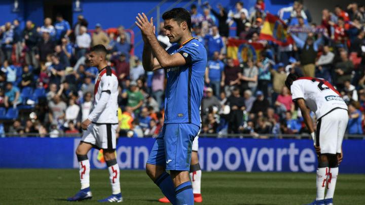 Gol de Jorge Molina al Rayo Valecano (2-1)