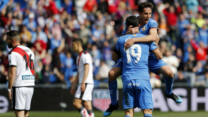 2-1. Mata y Jorge Molina acercan al Getafe a Europa y hunden al Rayo