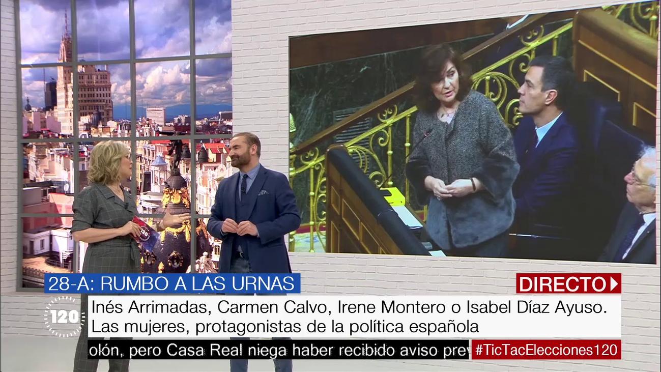 Las mujeres protagonistas de la política actual española