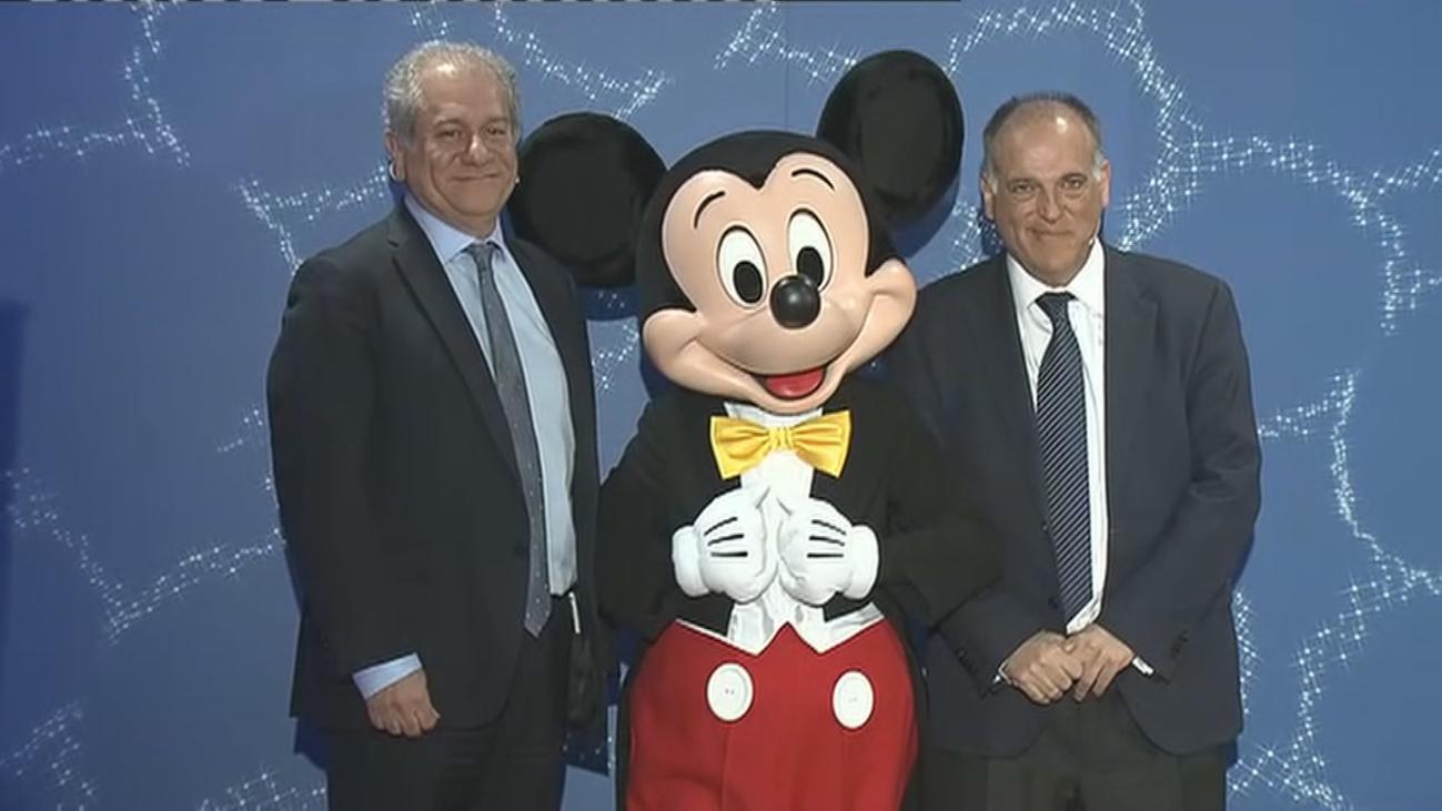 LaLiga y Disney se unen para fomentar los valores más positivos del fútbol