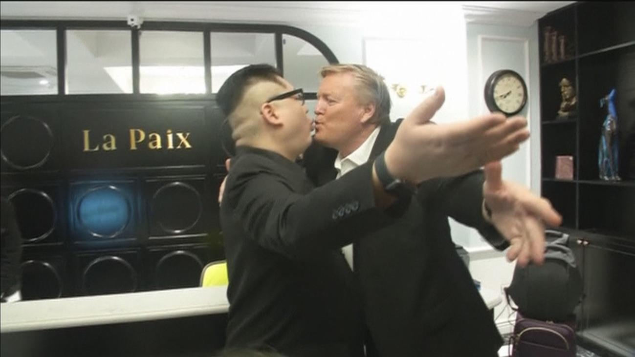 Secretismo y humor antes de la cumbre entre Trump y Kim Jong-Un en Hanoi