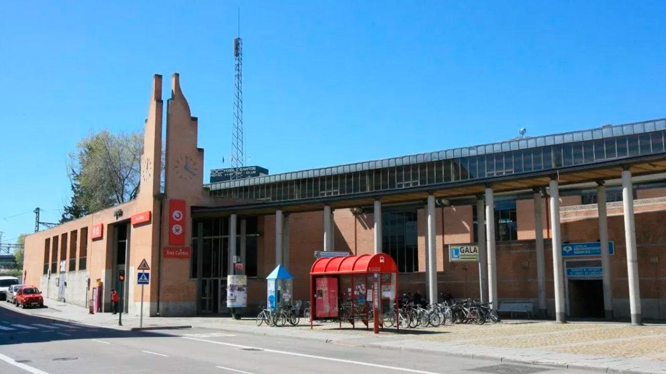 Estación de cercanías de Tres Cantos