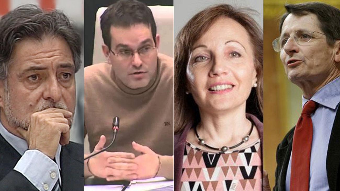 Pepu Hernández, Chema Dávila, Marlis González y Manuel de la Rocha