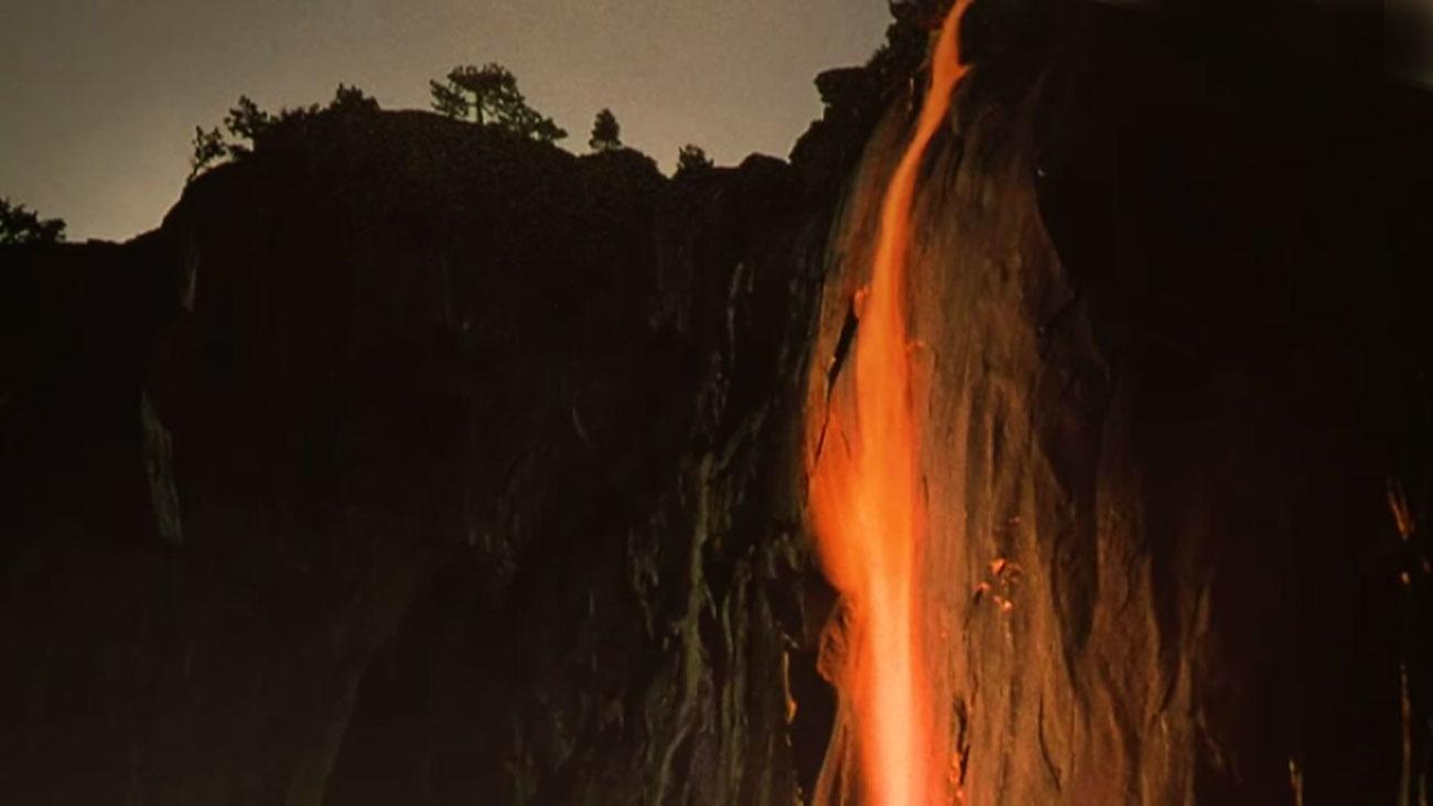 """La """"cascada de fuego"""", espectáculo único en Yosemite"""