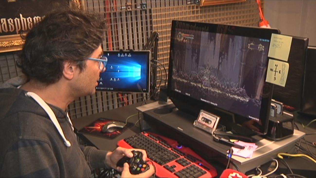 Un nazareno de videojuego