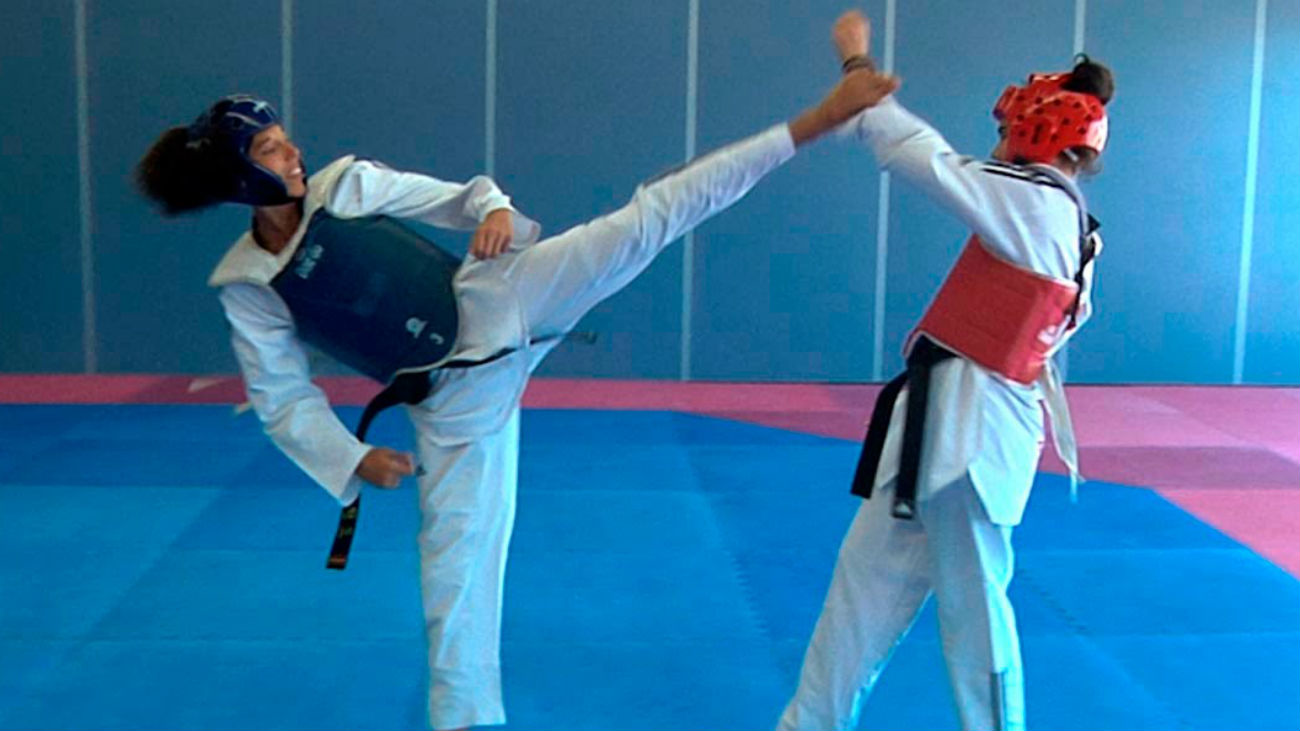 Las hermanas Calvo, las reinas madrileñas de taekwondo