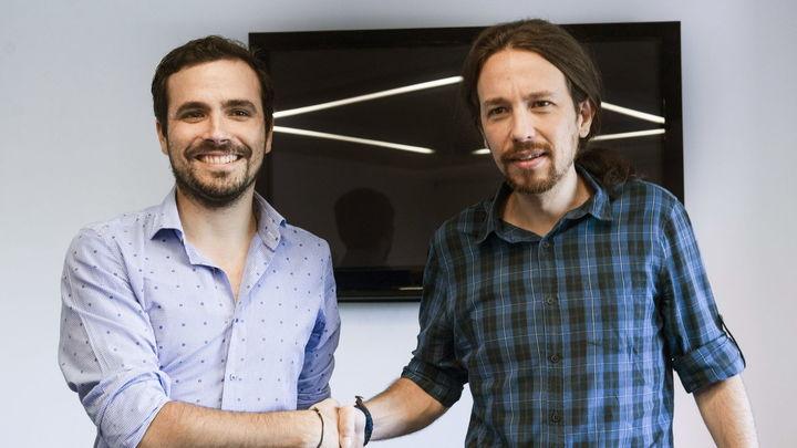 Podemos e IU cierran un acuerdo para repetir coalición en las elecciones generales