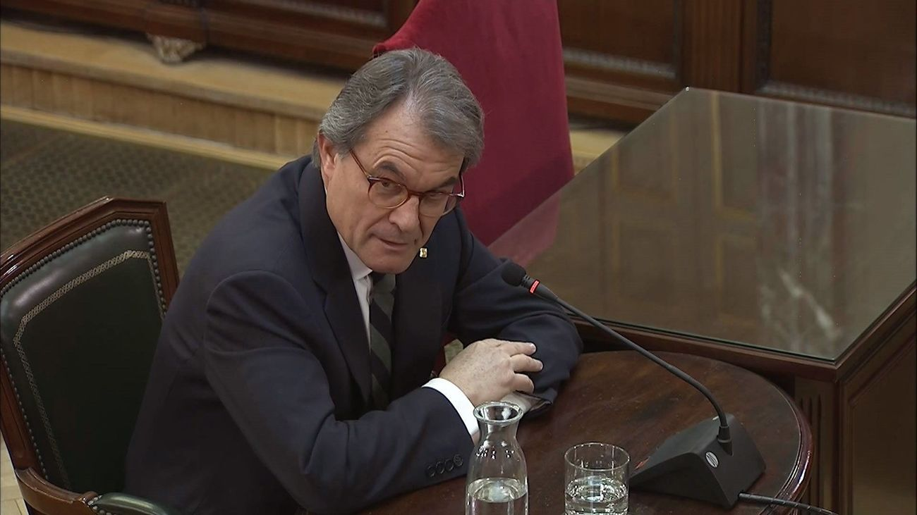 Artur Mas, en el juicio del 'procés'