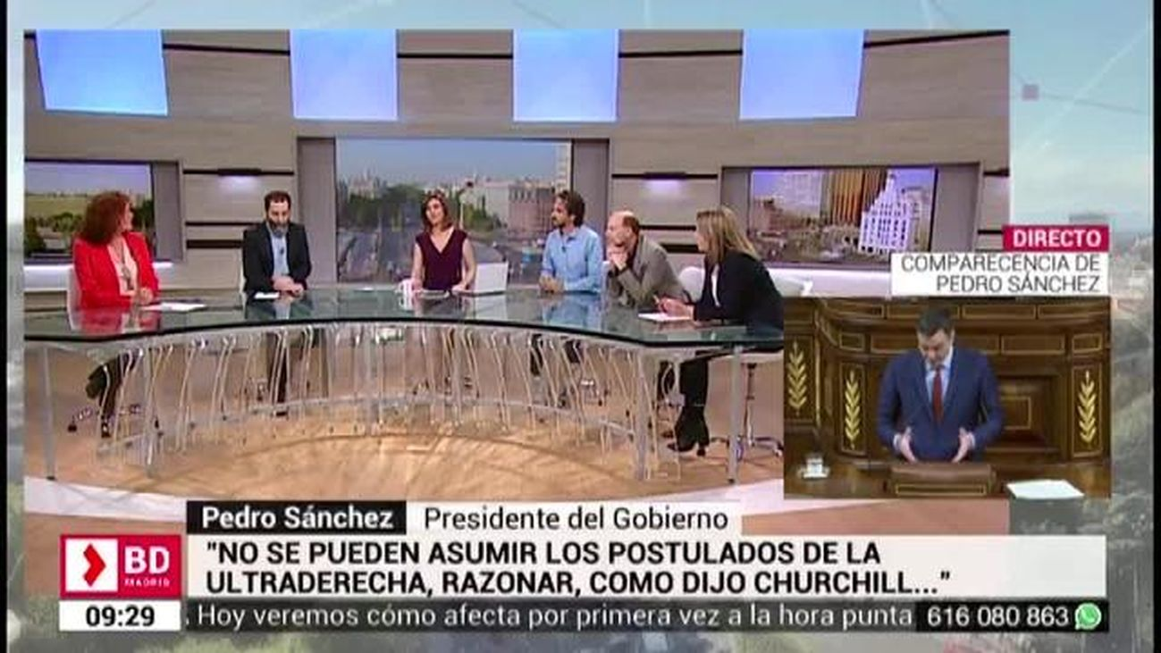 Buenos Días Madrid (8:30 - 10:30) 27.02.2019