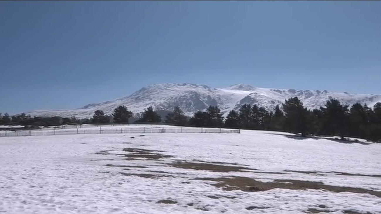 Sin nieve en la Sierra de Madrid