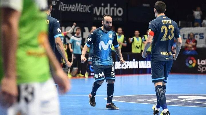 3-2. Inter Movistar se mete en 'semis' de la Copa de España