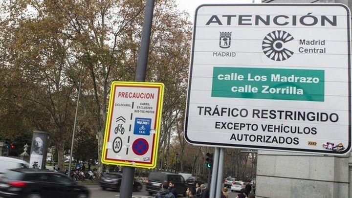 El TSJM deniega a la Comunidad de Madrid la suspensión cautelar de Madrid Central