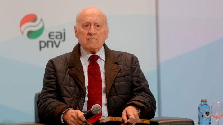 Fallece Xabier Arzalluz, histórico dirigente del PNV y figura relevante de la transición