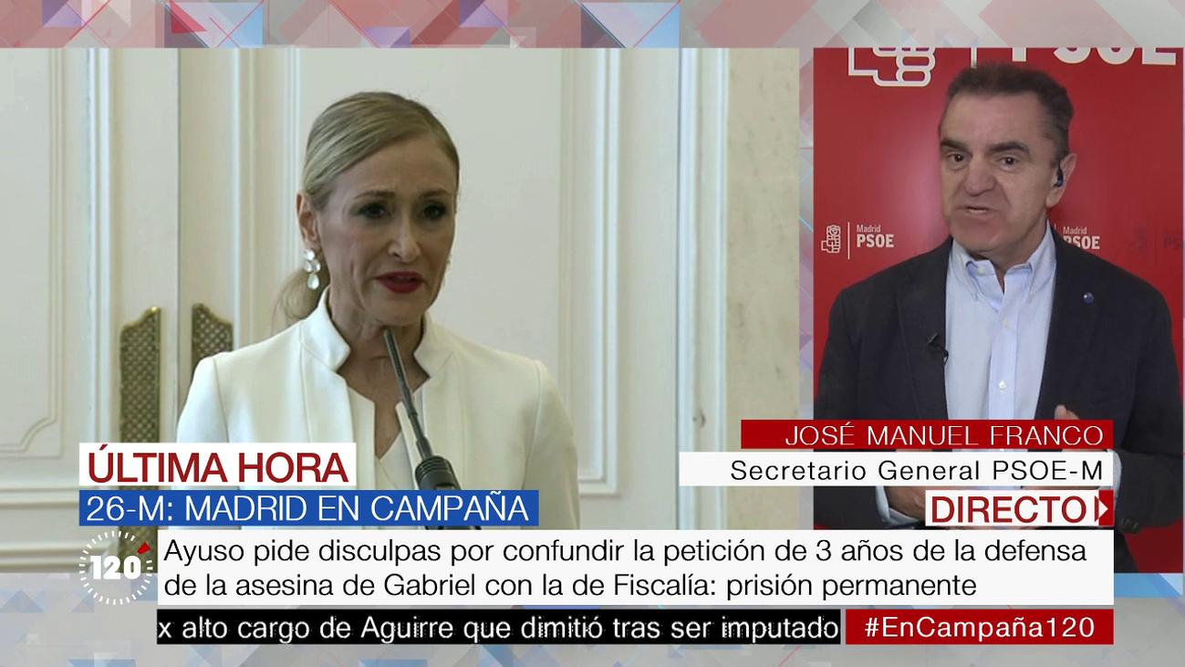 """José Manuel Franco: """"El PSOE pretende aclarar lo que ha pasado en la URJC"""""""