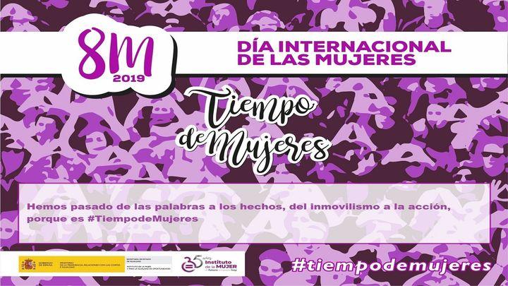 El Gobierno lanza #TiempoDeMujeres, un vídeo promocional para el 8M
