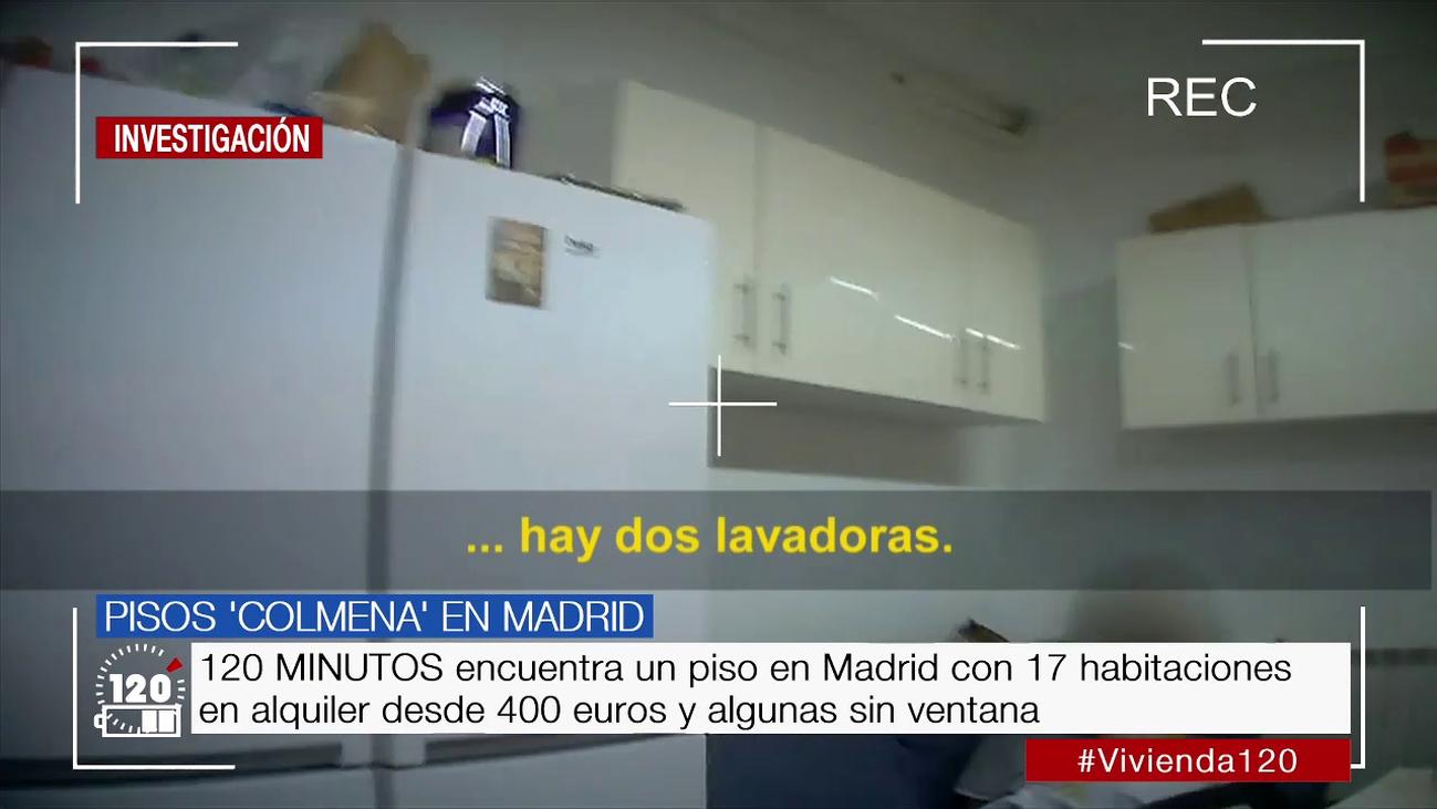 Hasta 17 habitaciones en alquiler desde 400 euros en un piso de Madrid