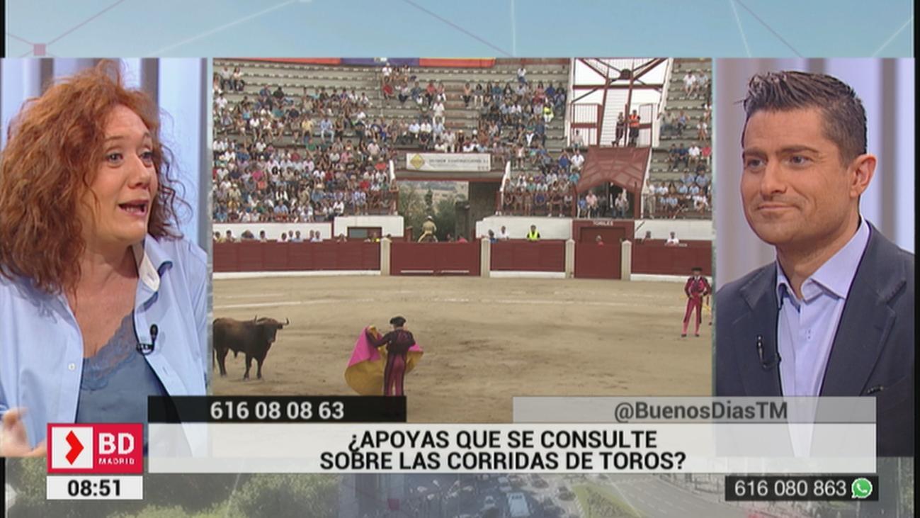 ¿Apoyas que haya consultas para realizar o no corridas de toros?