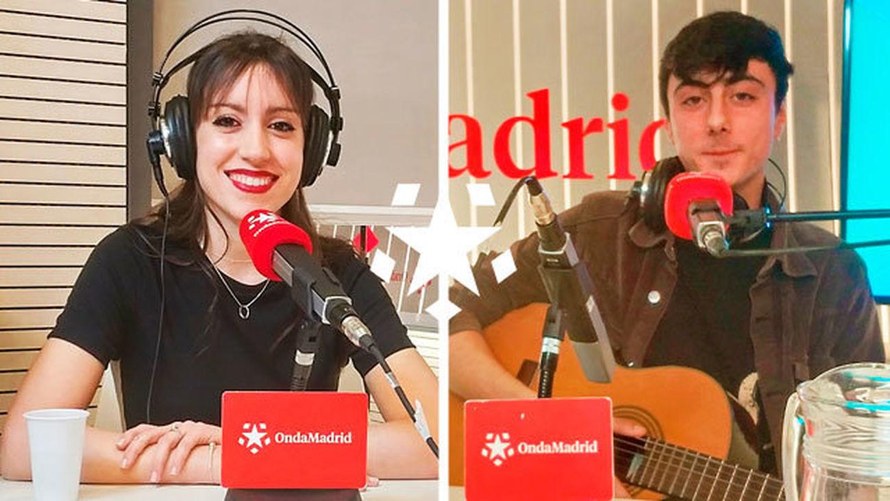 Concurso Nuevas Voces de Madrid con Irene Arza y Pedro Sierra