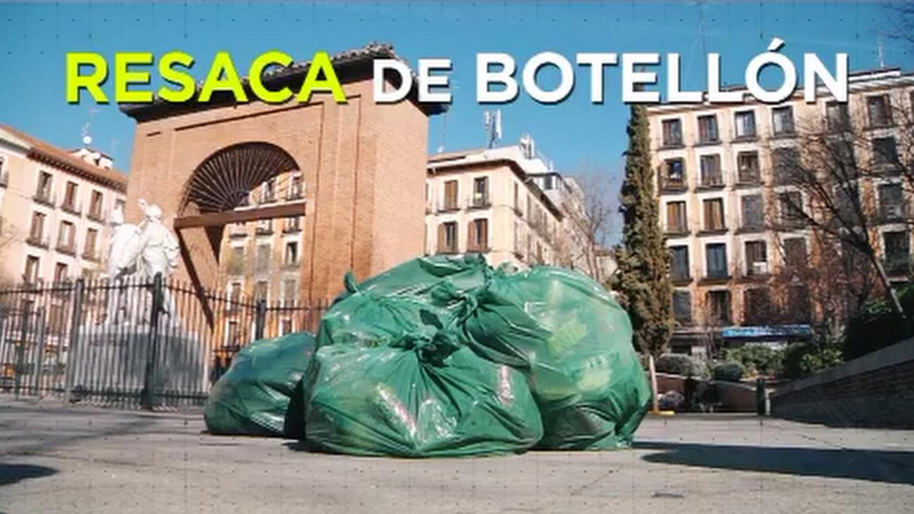 Contra los botellones sin control en la Plaza del Dos de Mayo